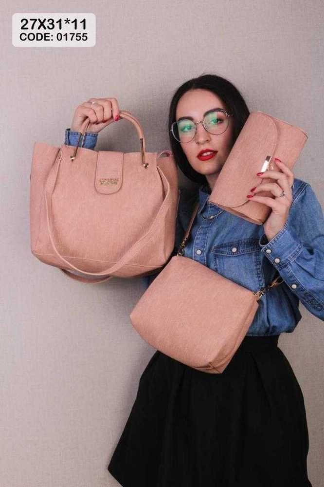 3 in 1 women bag (One Color)
